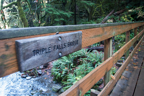 Triple Falls day hike