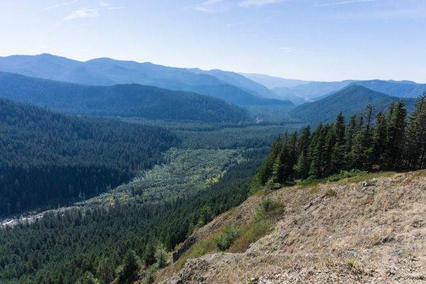Bald Mountain hike via Lolo Pass