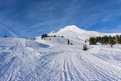 snowshoeing: Timberline Lodge to Silcox Hut and beyond